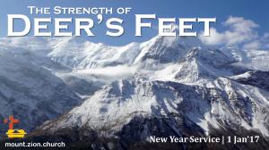 The Strength of Deer's Feet – Habakkuk 3:19   Mount Zion Church