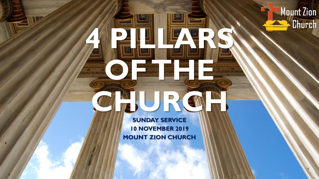 191110-EKKLESIA-4 Pillars of the Church